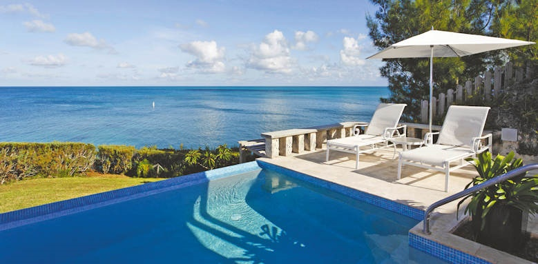 cambridge beaches, private pool cottage
