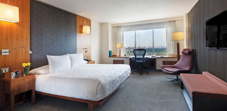 Le Parker Meridien New York, Tower park view king room