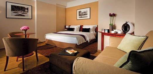 Best Western Slon, deluxe room