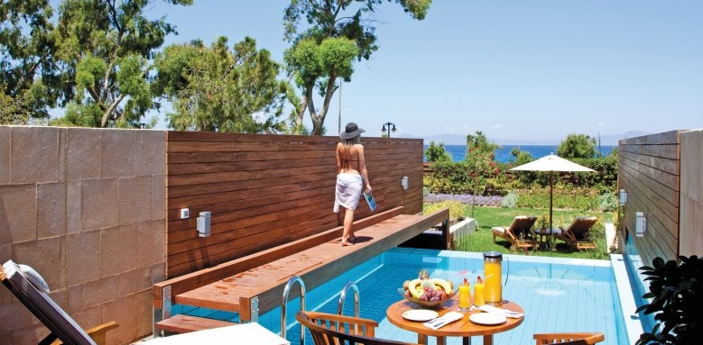 Elite Suites Amathus Beach Hotel Rhodes, Elite Suite Private Pool Garden