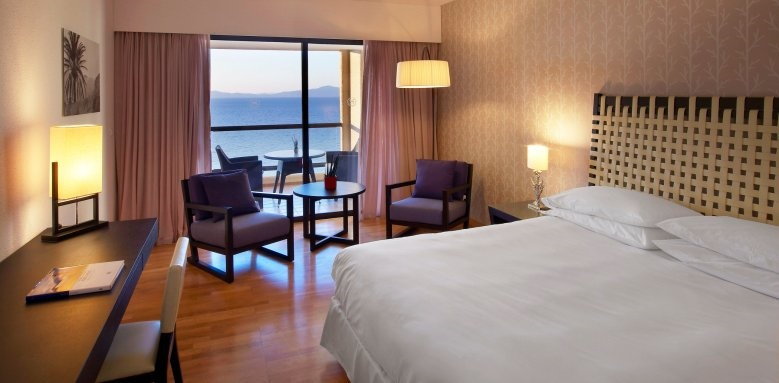 Sheraton Rhodes Resort, deluxe suite