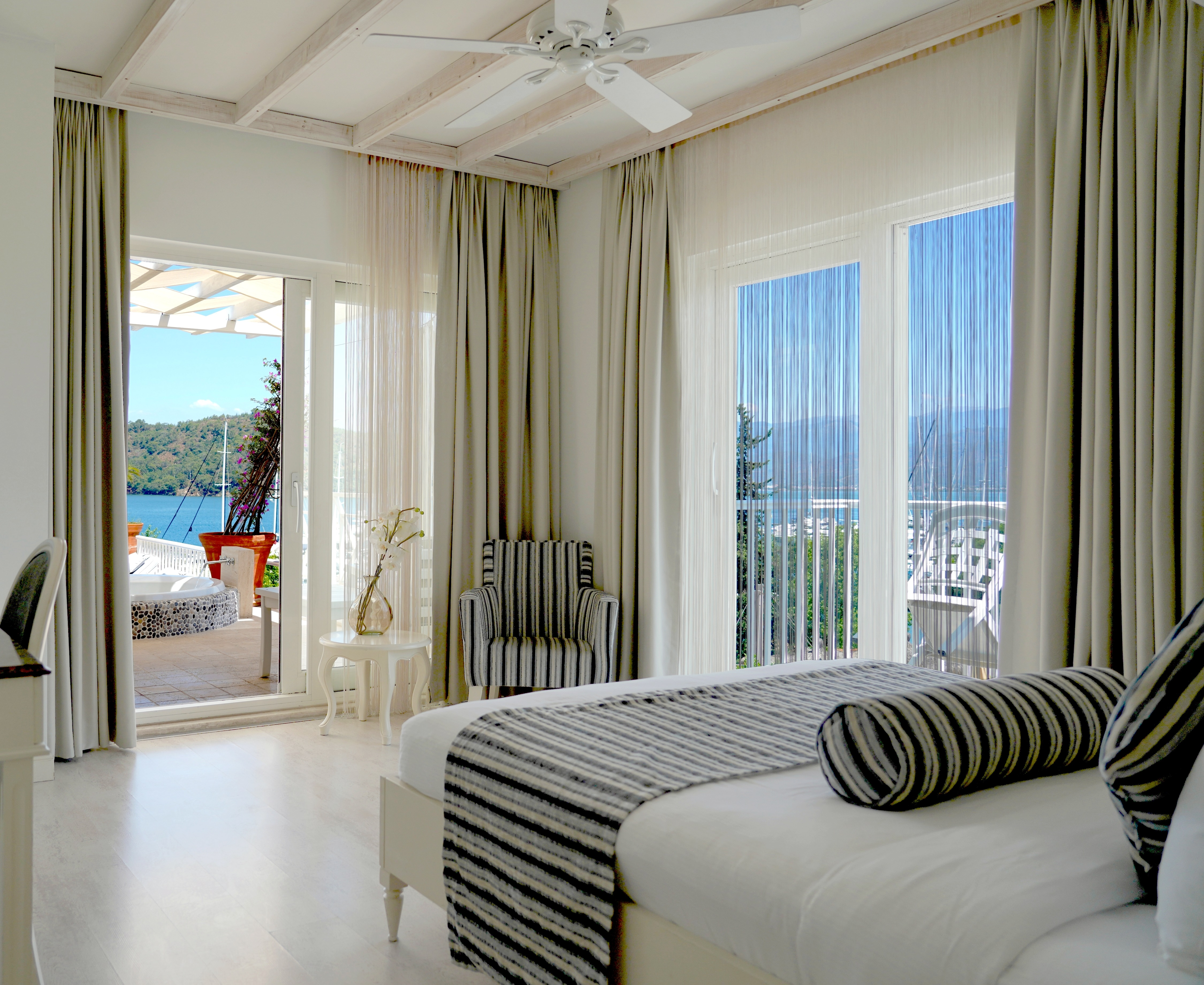 Yacht Classic Hotel, deluxe double sea view