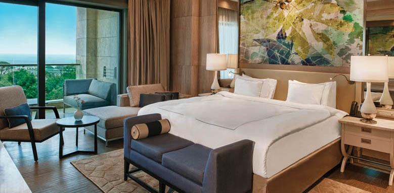 Regnum Carya Golf & Spa Resort, luxury suite sea view