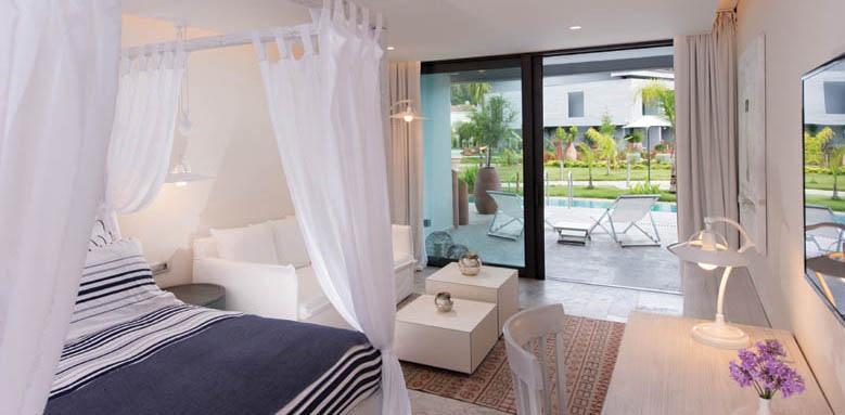 D-Resort Gocek, deluxe room pool view