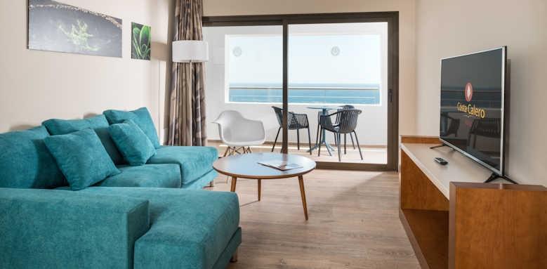 Hotel Costa Calero, twin bedroom senior suite