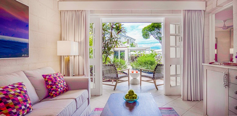 Treasure Island, suite garden view
