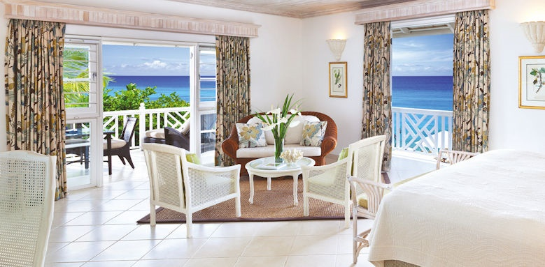 coral reef club, luxury junior suite