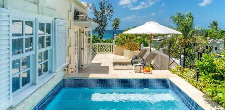coral reef club, luxury plantation suite