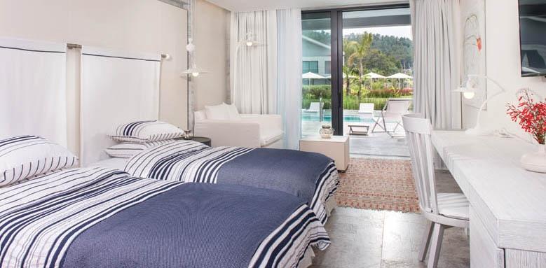 D-Resort Gocek, deluxe twin pool view