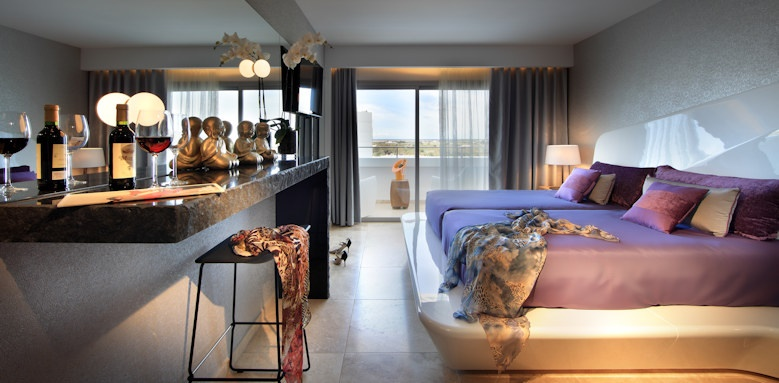 ushuaia ibiza beach, superior tower room