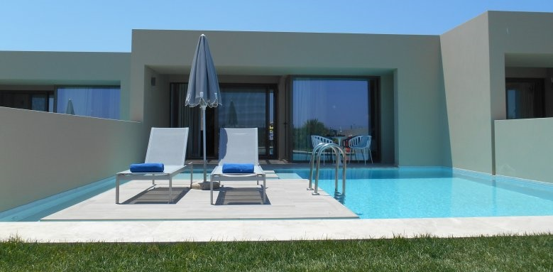 Astir Odysseus, suite private pool