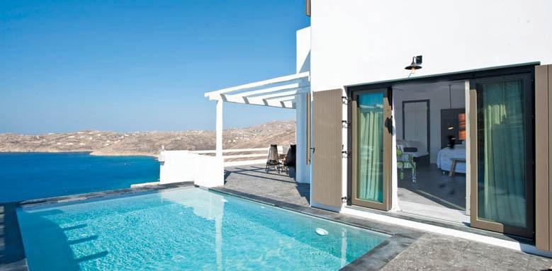 Myconian Avaton Resort, Mystique room private pool