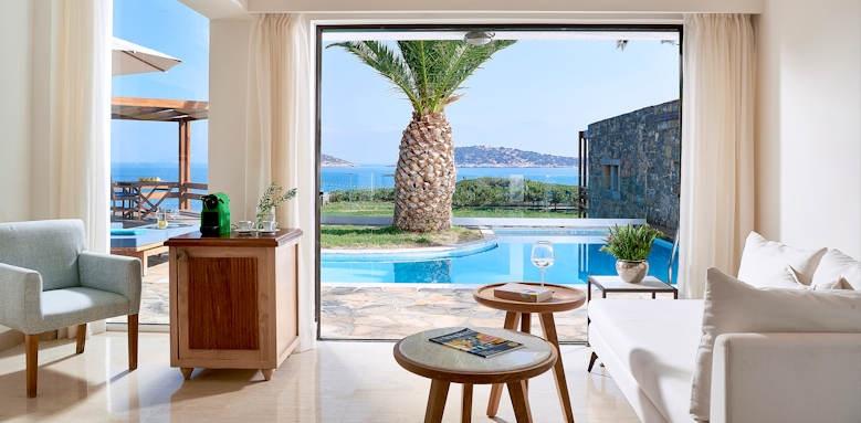st nicolas bay, club suite private pool