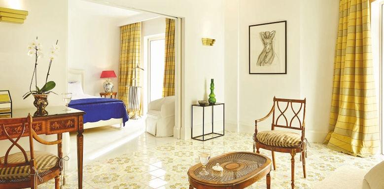 Grecotel Caramel, luxury bungalow suite garden view