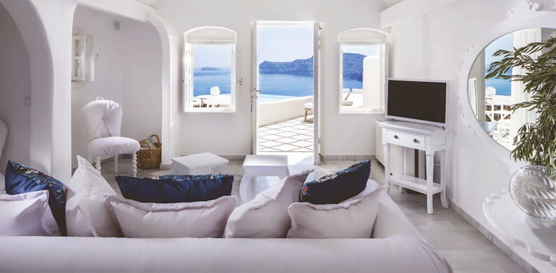 Canaves Oia Suites, infinity pool suite