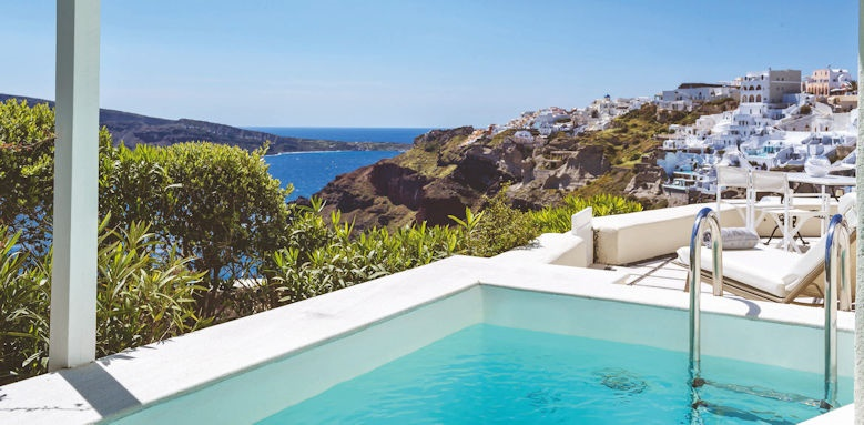 Canaves Oia Suites, canaves suite with private pool