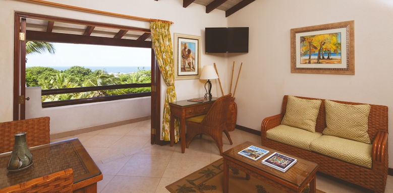 Sugar cane club, ocean view suite