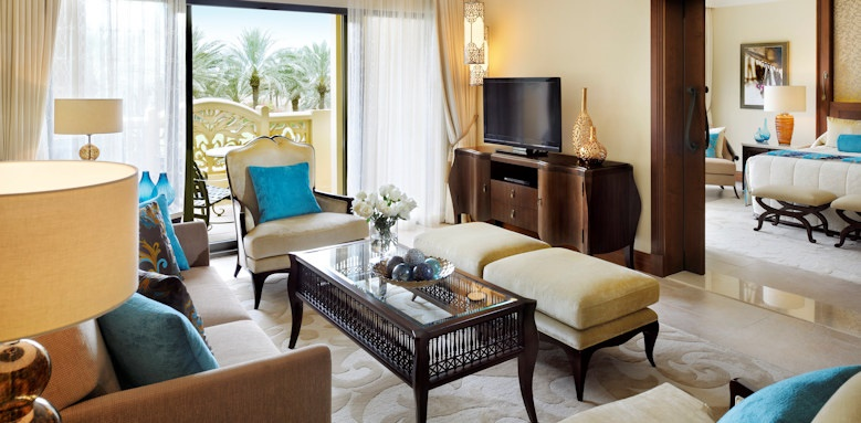 royal mirage the palace, executive suite