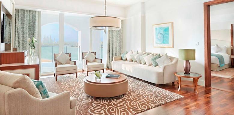 Waldorf Astoria Dubai Palm Jumeirah, deluxe suite seaview
