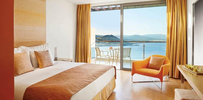 Lindos Blu Hotel & Suites, Double Sea View Room