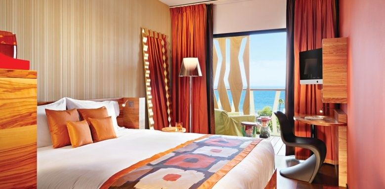 bohemia suite and spa, double sea view