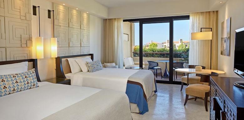 The Romanos Resort, deluxe garden view room