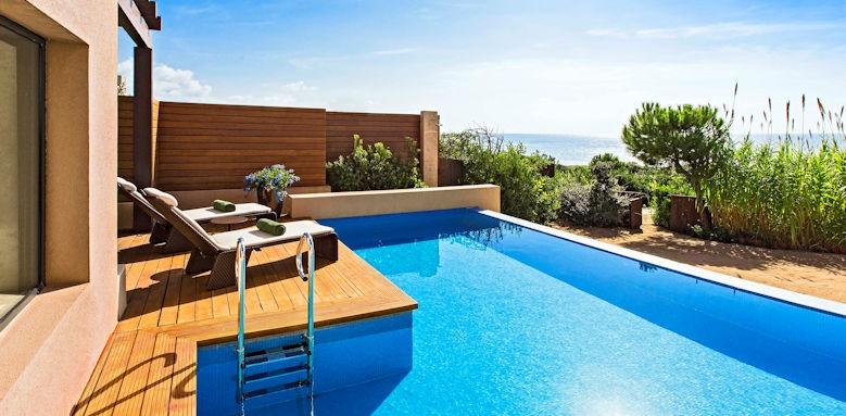 The Romanos Resort, premium infinity room