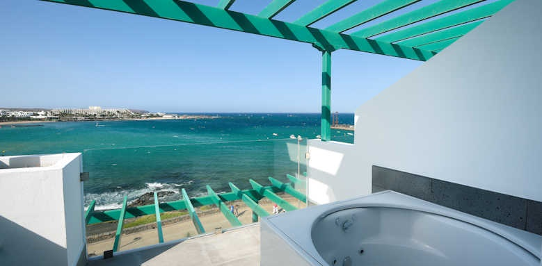 Barcelo Teguise Beach, Deluxe with Hot Tub and Ocean View