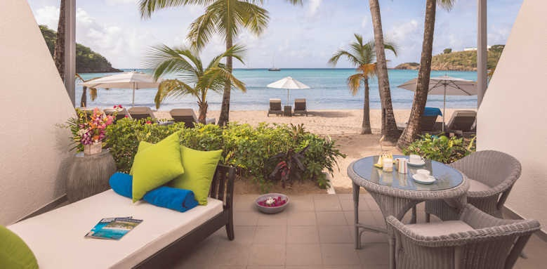 Carlisle Bay, Beach Suite with terrace