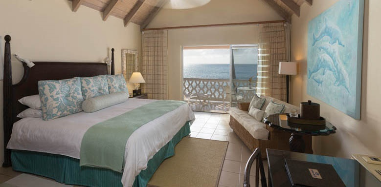 Curtain Bluff, Deluxe Room