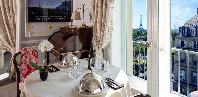 Hotel Regina Paris, eiffel tower suite