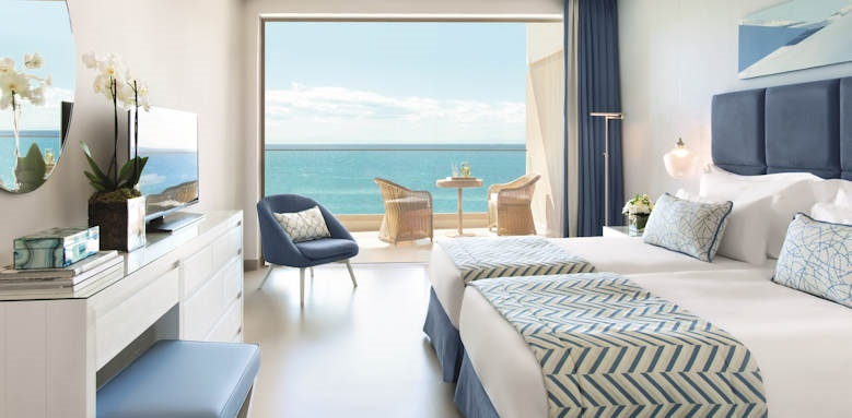 ikos oceania, family room sea view