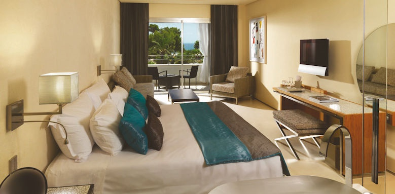 aguas de ibiza, junior suite pool view