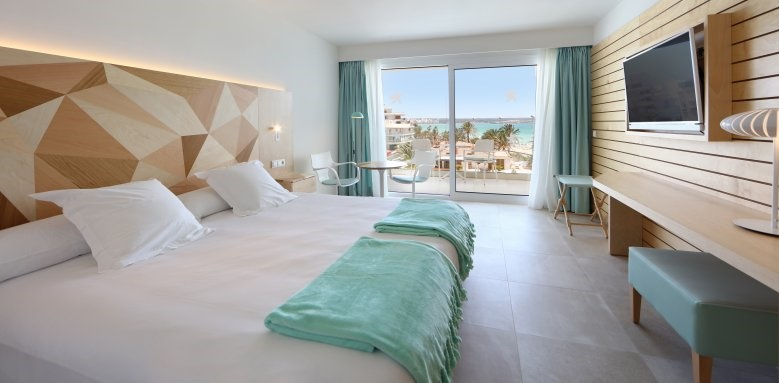 Iberostar Playa de Palma, side sea view room