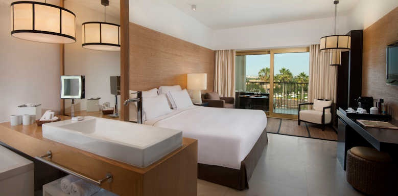 Anantara Vilamoura, deluxe room with view of golf course