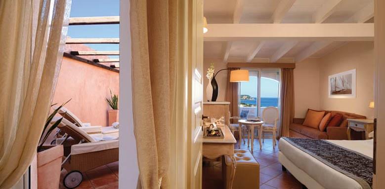 Colonna Pevero Hotel, deluxe sea view