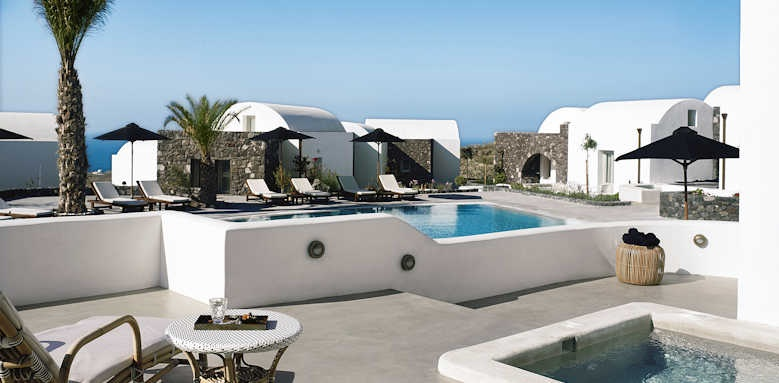 Santo Maris Oia Luxury Suites and Spa, Suite pool front
