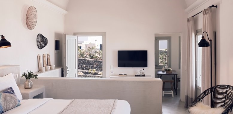 Santo Maris Luxury Suites and Spa, junior suite sea