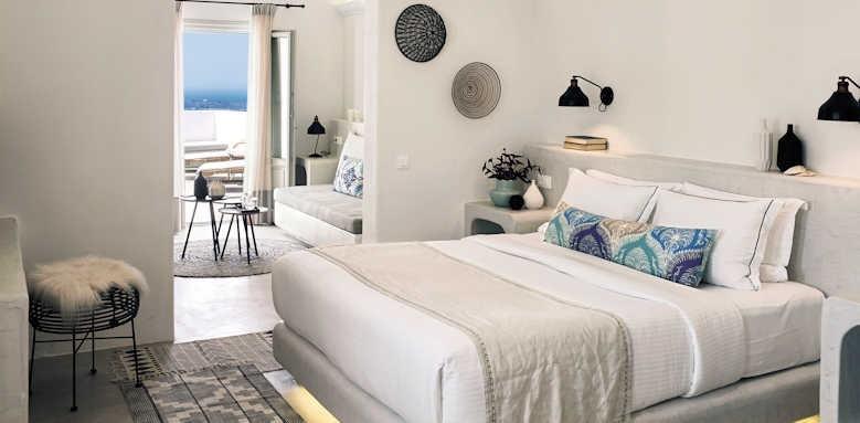 Santo Maris Suite, junior deluxe suite sea view