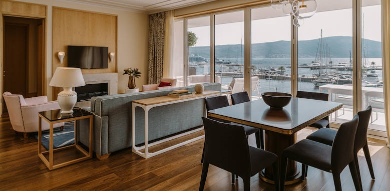Regent Porto Montenegro, two bedroom suite
