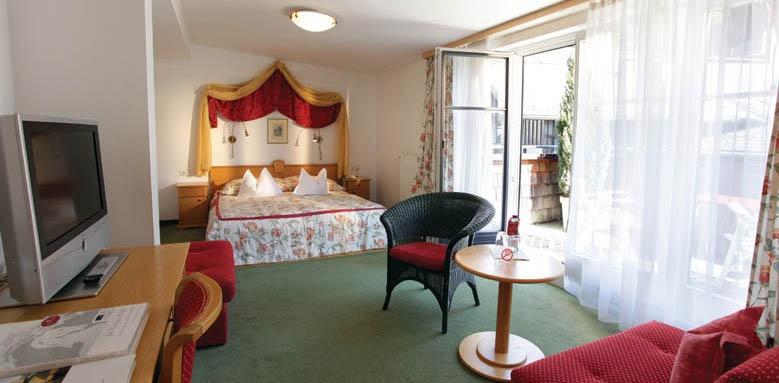 Hotel Im Weissen Rossl, double room balcony