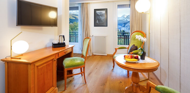 beausite park hotel wengen,  junior suite