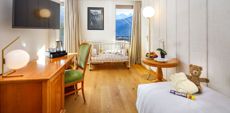 beausite park hotel wengen,  family jungfrau view