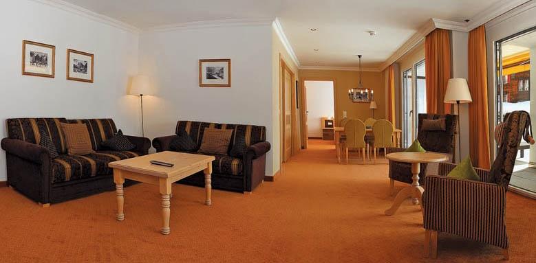 Romantik Hotel Schweizerhof, superior two bedroom