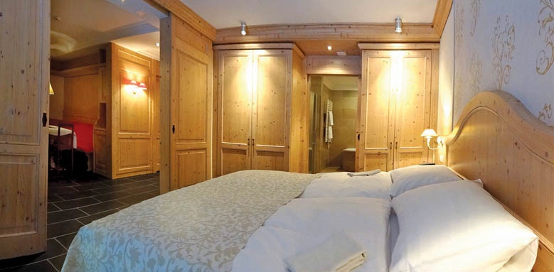 Romantik Hotel Schweizerhof, superior one bedroom