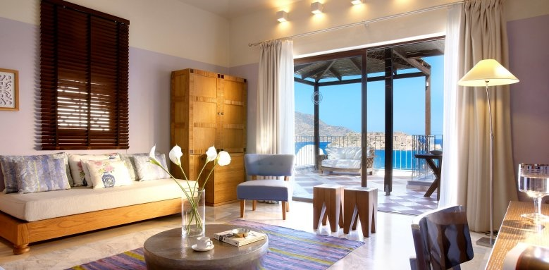 Domes of Elounda, Premium suite sea view