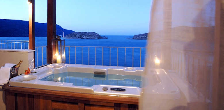 Domes of Elounda, family suite sea view