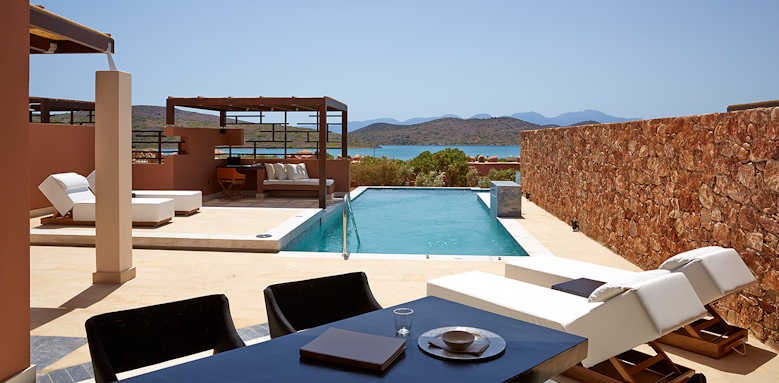 Domes of Elounda, Luxury 4 bed private residences
