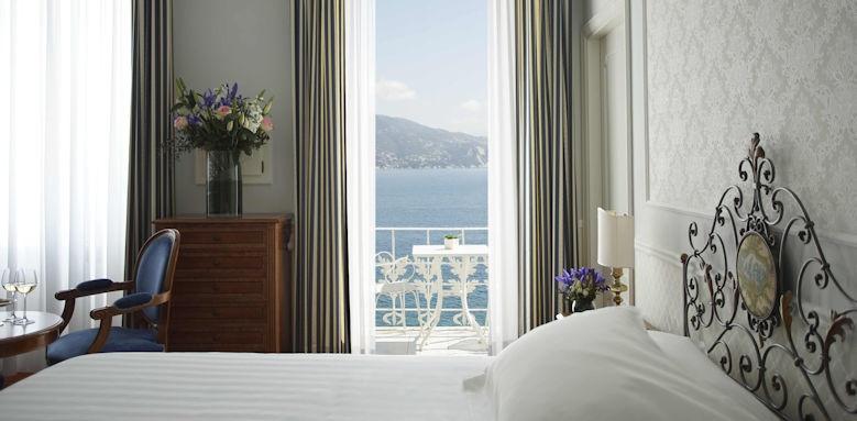 Grand Hotel Miramare, deluxe sea view balcony