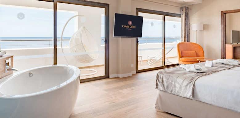 Hotel Costa Calero, select suite distant ocean view